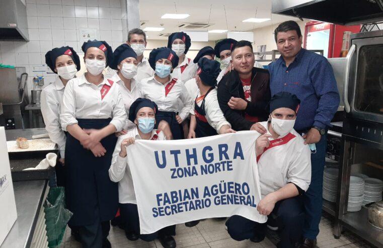Fabián Agüero suma el apoyo de los trabajadores de Kansas y del comedor del Sanatorio de la Trinidad