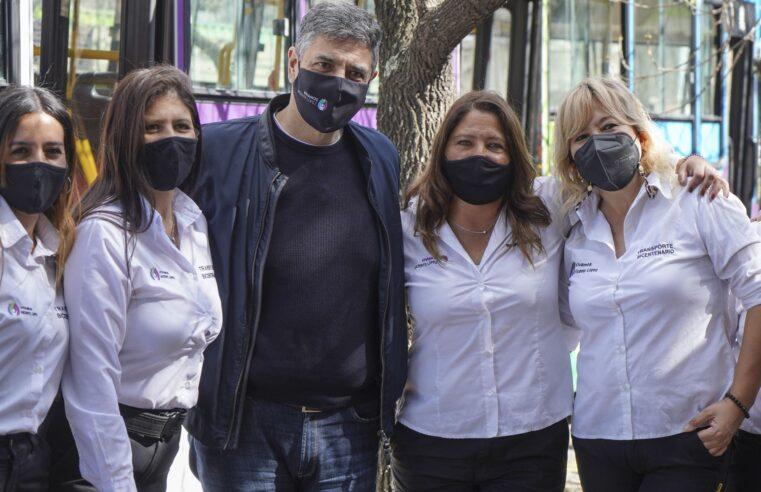 Día del colectivero: Vicente López cuenta con una línea de colectivos manejado solo por mujeres