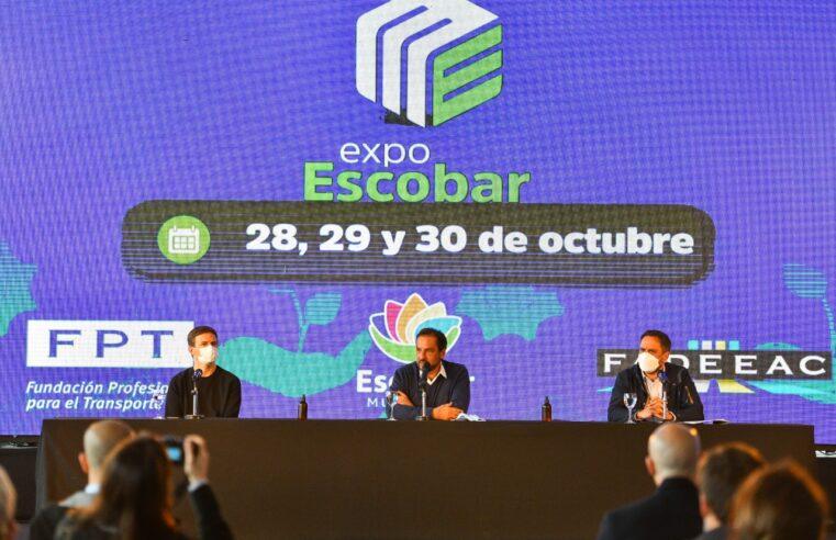 Sujarchuk presentó Expo Escobar