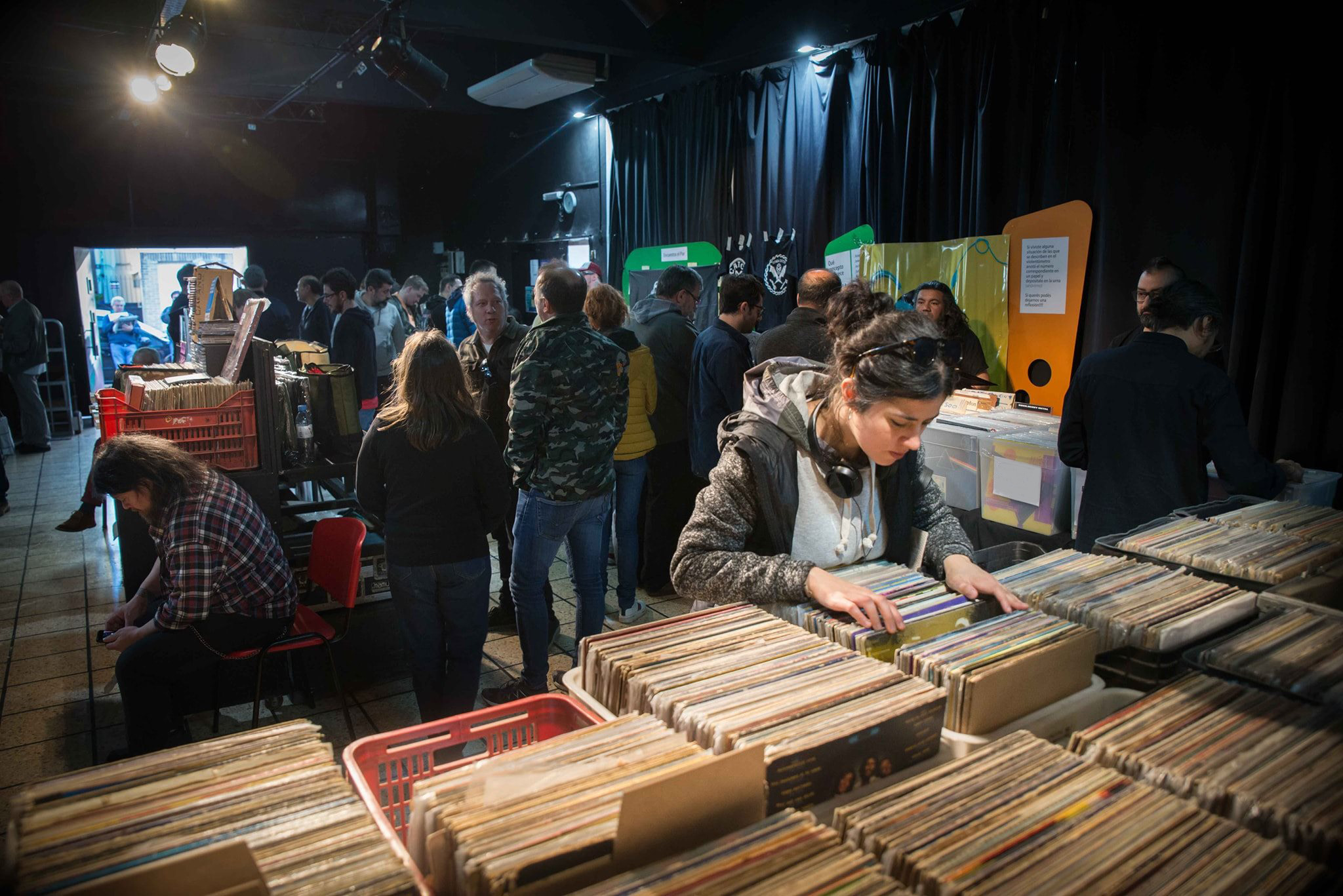 Vuelve la Feria de Discos de Vinilo a San Isidro