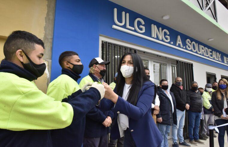Correa presentó la remodelada ULG de Ingeniero Adolfo Sourdeaux