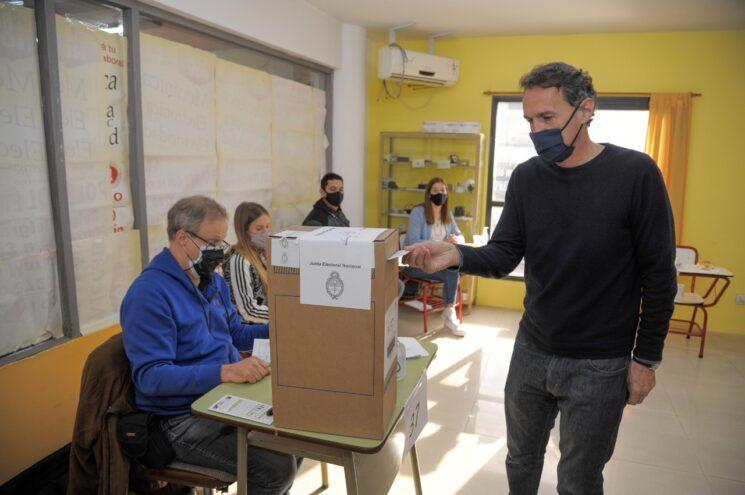 """""""Necesitamos que cada ciudadano y ciudadana de la Argentina acompañe al sistema democrático y lo fortalezca con su voto"""""""