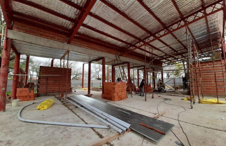 """Escobar avanza con la construcción del nuevo Centro de Atención Primaria """"Juana Azurduy"""""""