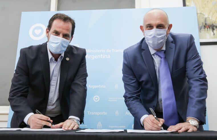 Sujarchuk y Guerrera acordaron construir 90 paradas seguras en Escobar