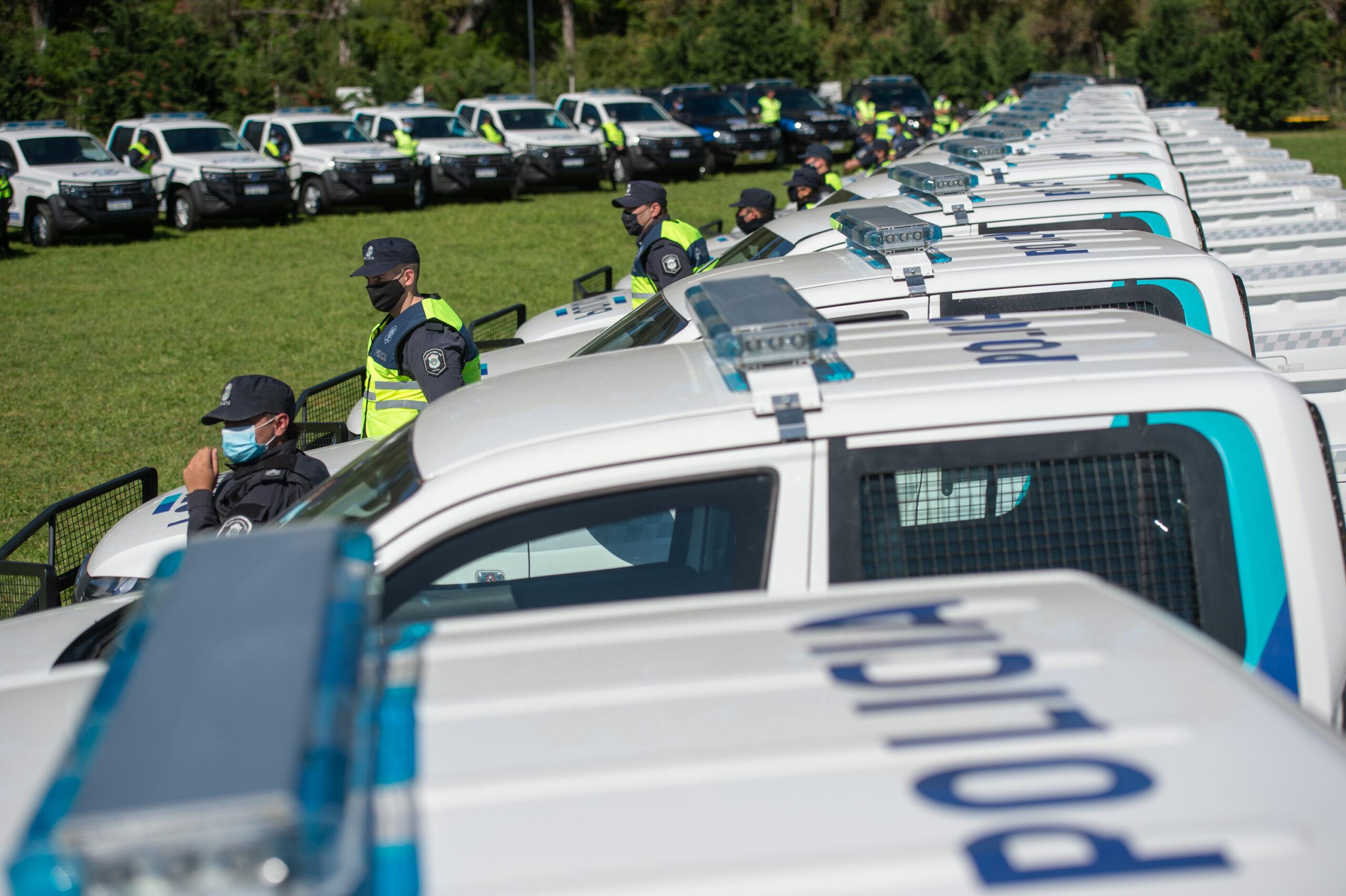 Pilar suma 54 nuevos patrulleros