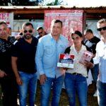 Fabian Agüero festejó el Día de la Madre acompañado por las madres gastronómicas de zona norte