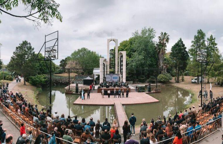 Se celebró el 62° aniversario del partido de Escobar con una ceremonia en el predio de la Fiesta Nacional de la Flor